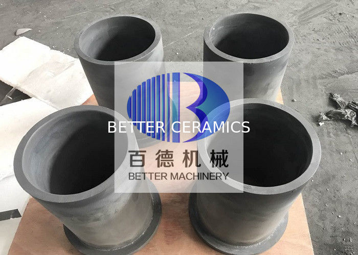 Reaction Bonded Silicon Carbide Ceramic SiSiC Cyclone Liner Wear Resistant